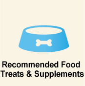 Recommended Food Treats & Supplements